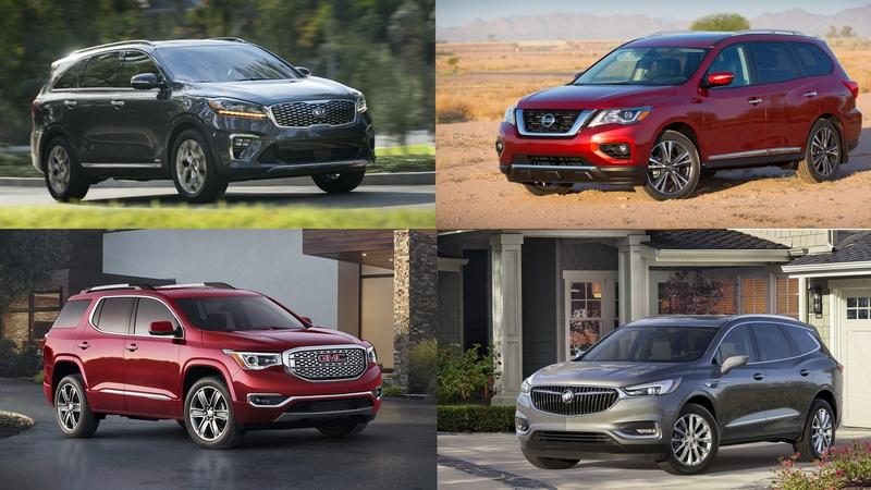10 Best 3-Row SUVs of 2018