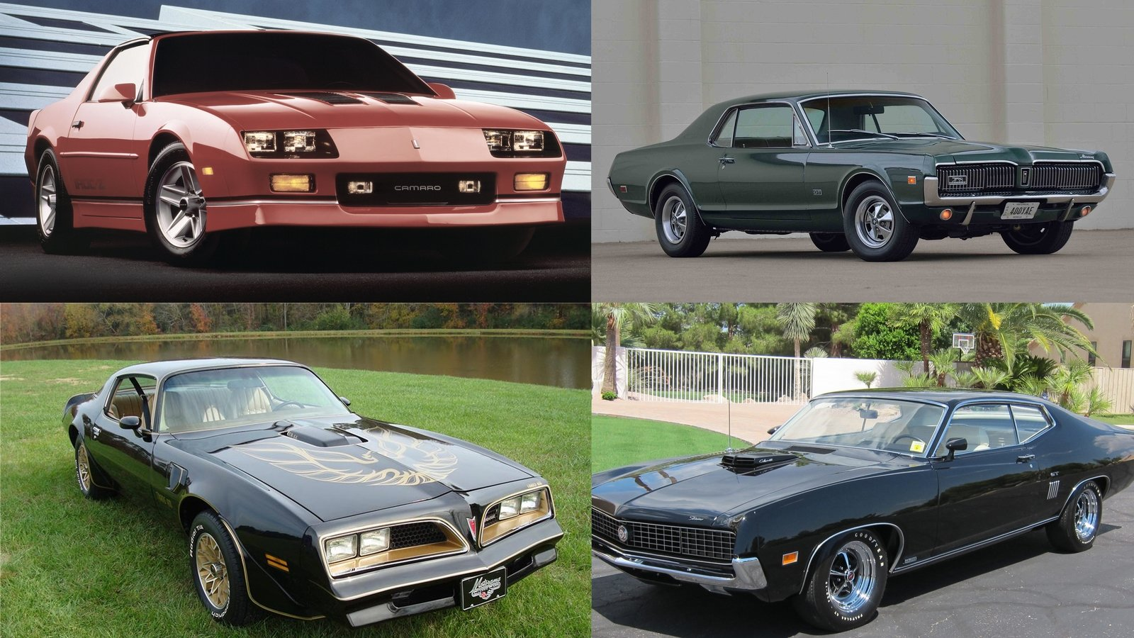Cheap Classic Muscle Cars: 10 Cool Muscle Cars You Can Buy For Less Than $20,000