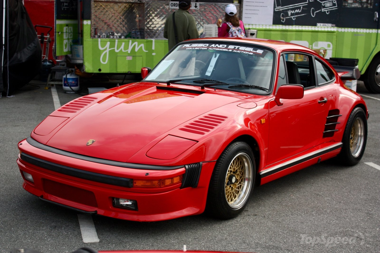 Top 10 Fastest Cars >> 1985 Porsche 911 Turbo Coupe   Top Speed