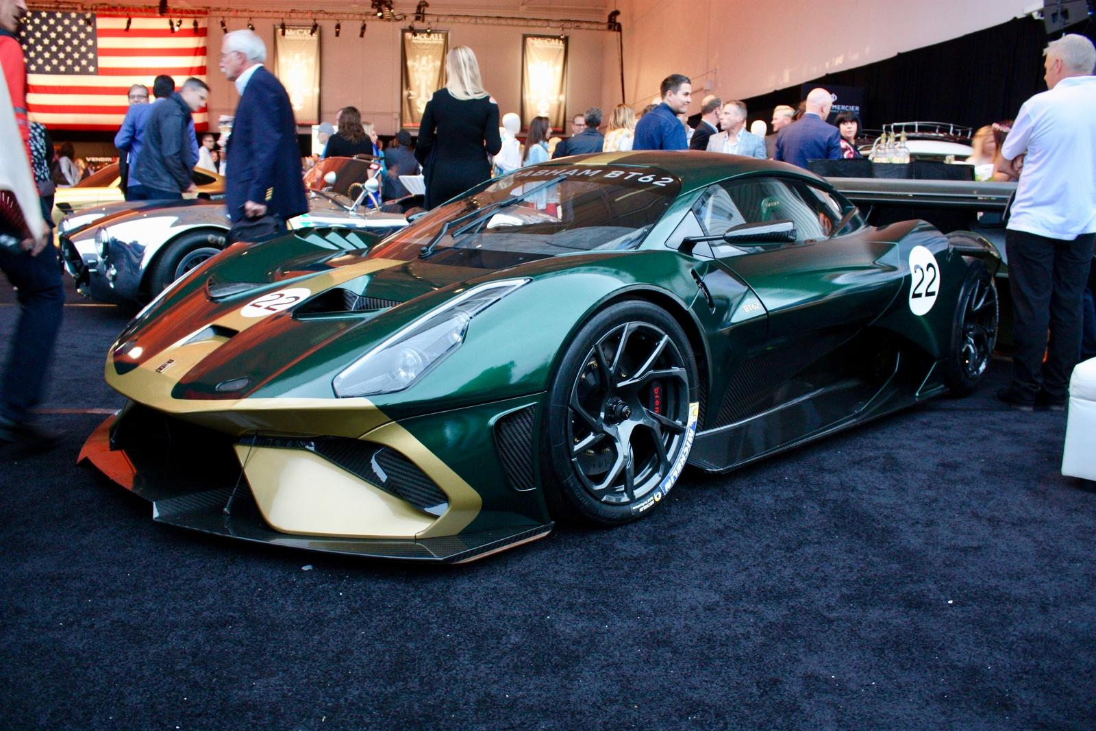 2018 Brabham Bt62 Pictures Photos Wallpapers Top Speed