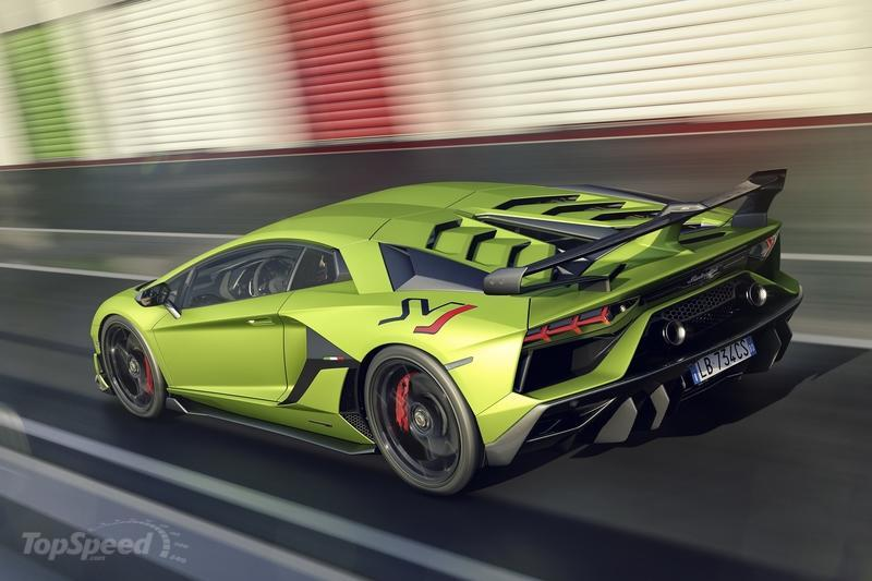 Lamborghini is Giving Us 770 Reasons To Love The Aventador SVJ