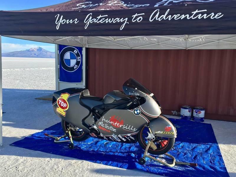 At 242 mph, this is the record for the fastest BMW motorcycle Exterior - image 789546