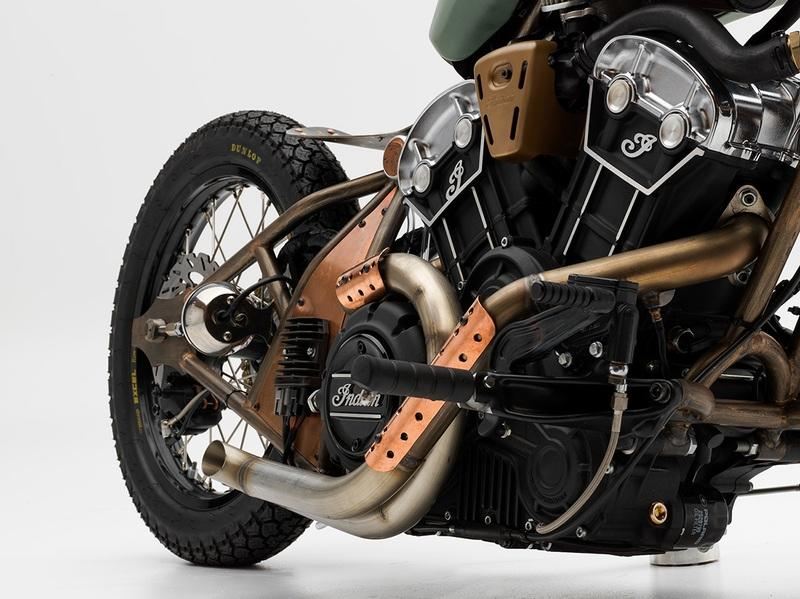 A NASA Engineer won Indian's Scout Bobber Build Off contest Exterior - image 792161