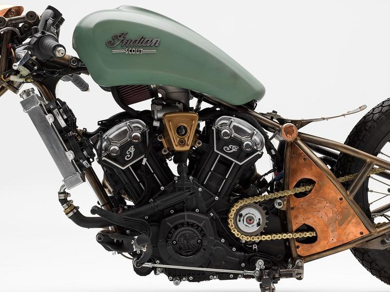 A NASA Engineer won Indian's Scout Bobber Build Off contest Exterior - image 792155