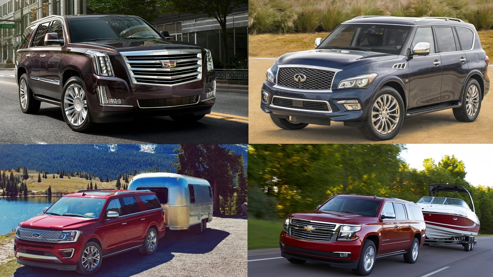 Nissan Armada Towing Capacity >> Towing Capacity: 7 SUVs From 2016 That Can Tow The Most ...