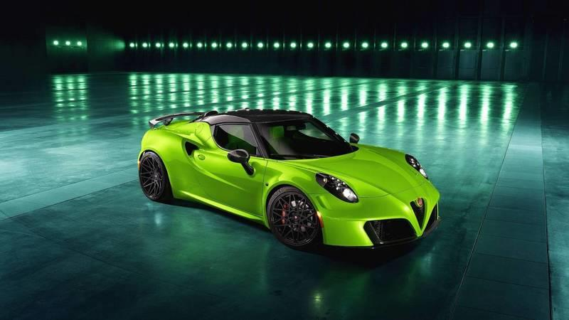2018 Alfa Romeo 4C Centurion 007 – The Green Arrow by Pogea Racing