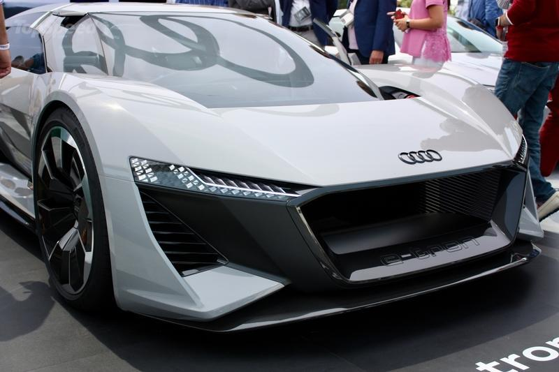 The 2018 Audi PB18 E-Tron Concept Will Go Into Production After All - The Number to Be Built Will Blow your Mind