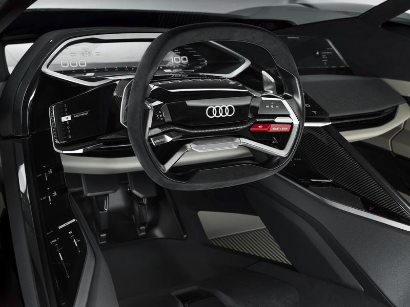 Audi PB18 e-tron concept car makes debut in Pebble Beach Interior - image 791958