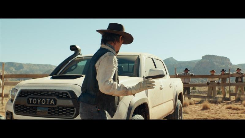 Chuck Norris is Tough and So is the New Toyota Tacoma Pickup, Apparently