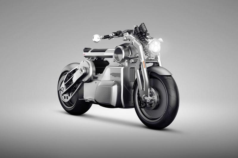Curtiss to introduced a V8 electric powered motorcycle later on