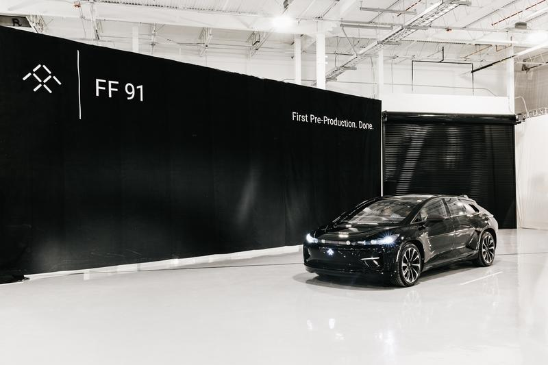 Faraday Future Completes a Pre-Production Build of the FF91...Finally