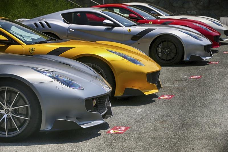 Ferrari Becomes First Automaker To Use Low-Bake Paint Tecnology
