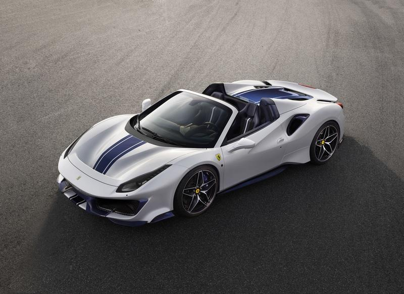 Ferrari Celebrates its 50th Drop-Top Model With The 488 Pista Spider Exterior - image 792200