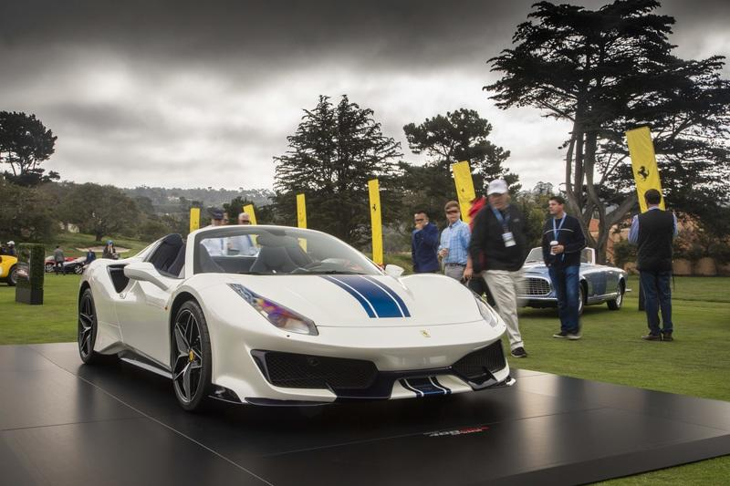 Ferrari Celebrates its 50th Drop-Top Model With The 488 Pista Spider Exterior - image 792193