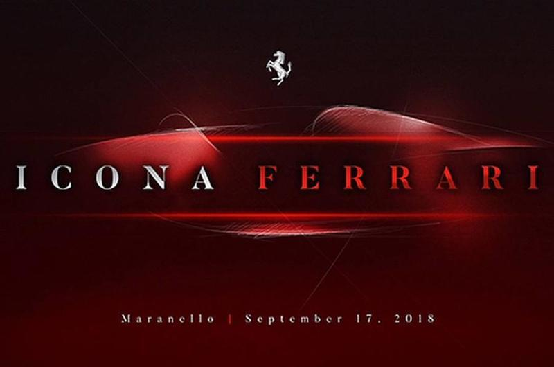 Ferrari Teases New Supercar, Debut Set For September 17