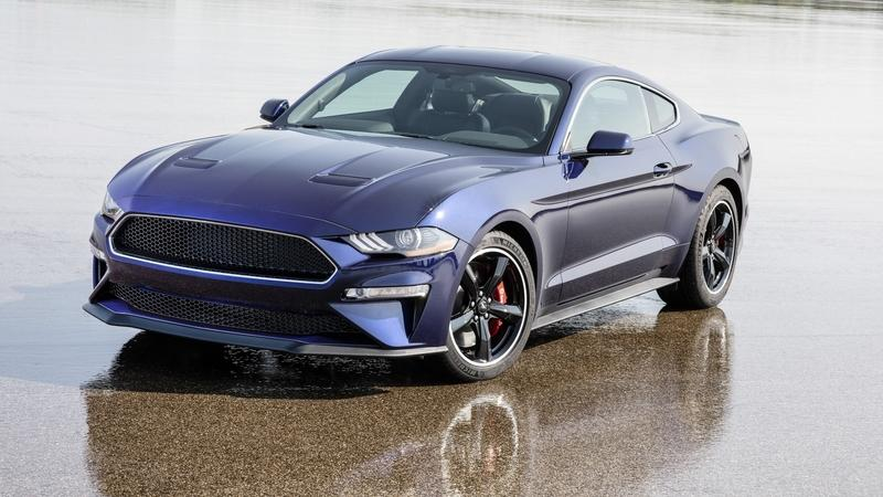 Ford Has A Kona Blue Mustang Bullitt That's Going To Be Up For Raffle