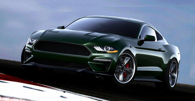 2019 Ford Mustang Bullitt Steve McQueen Edition by Steeda