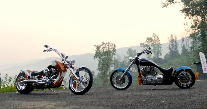 India's first ever entry into the Chopper scene with Avanturaa Motorcycles