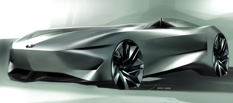 Infiniti's Single-Seater Concept Teased with Sleek Lines and a Lot of Attitude
