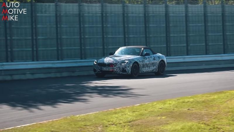 It's Only Fitting That The BMW Z4 And The Toyota Supra Are Testing At The Nurburgring Together