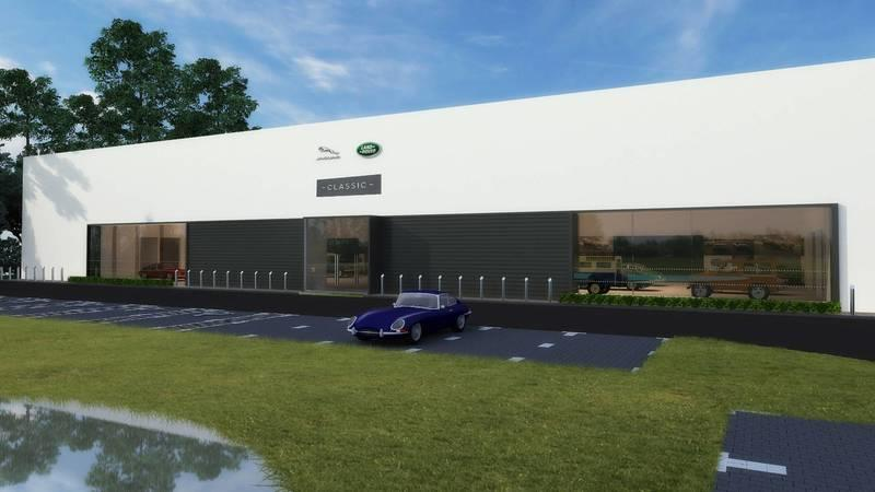 Jaguar Land Rover's First Classic Car Facility Comes To The U.S.