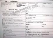 Leaked Document: Ford Mustang Shelby GT500 Will Have 710HP; Weigh 4,200 Lbs - image 791903