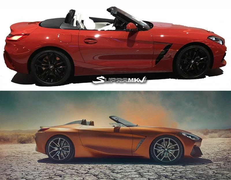 Update: Leaked Photos of the New 2019 BMW Z4 Surface Ahead of Debut