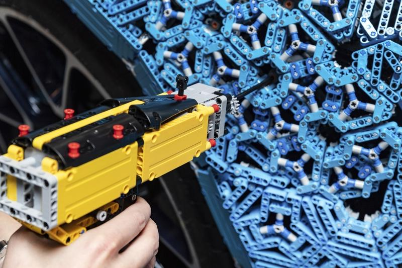 LEGO Technic Seriously Created a Life-Sized, Functional Bugatti Chiron