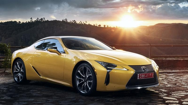 2019 Lexus LC Yellow Edition