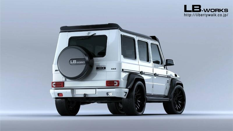 Liberty Walk has a Body Kit for the Mercedes G-Class and the Suzuki Jimny at the Same Time