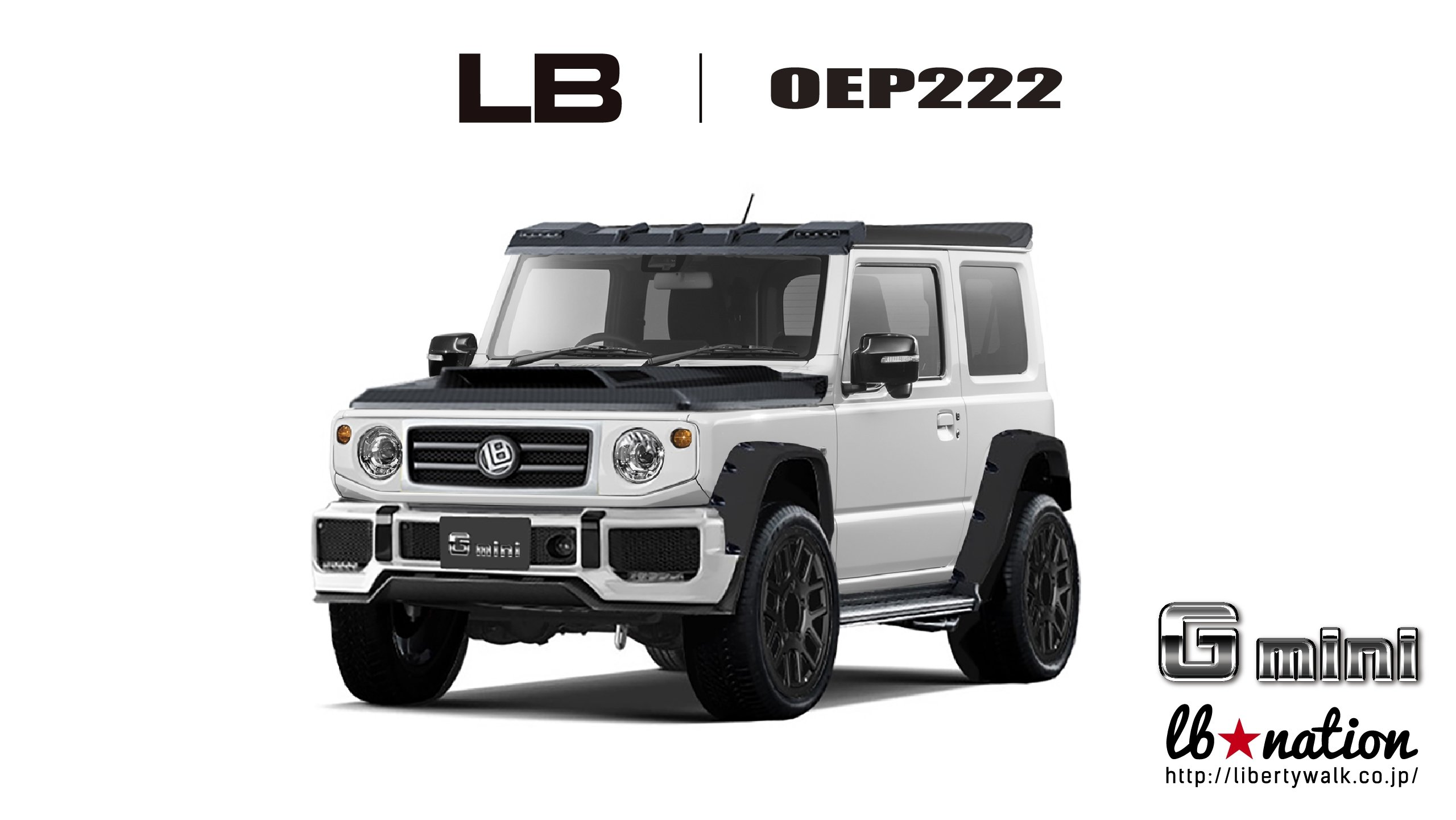 Liberty Walk Has A Body Kit For The Mercedes G Class And