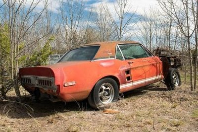 Little Red, the Long Lost Mustang Shelby GT500, Has Been Found