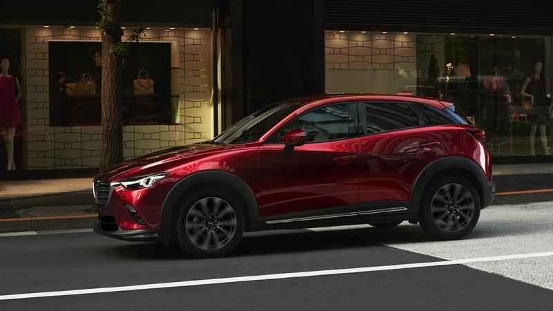 Is This The 2020 Mazda Cx 4 That Was Teased For The 2019 Geneva