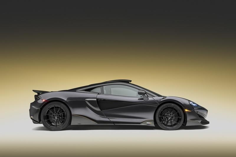 2019 McLaren 600LT in Stealth Grey by MSO Exterior - image 791291