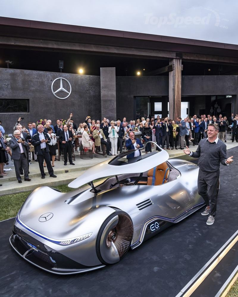 2018 Mercedes EQ Silver Arrow