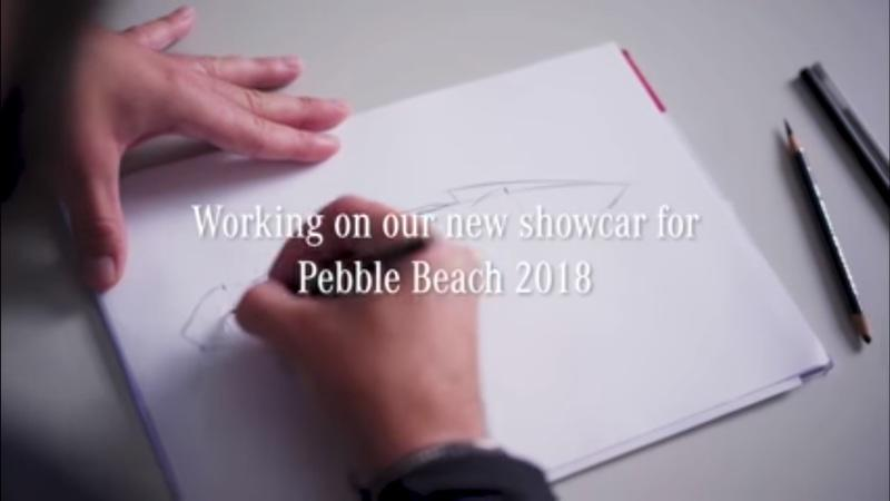Mercedes Teases a New Retro Electric Concept for Pebble Beach