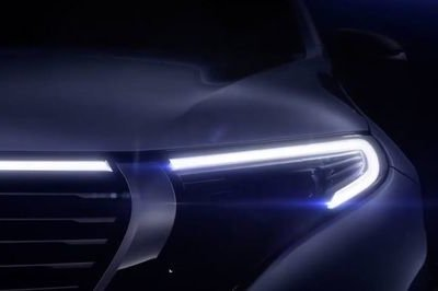 Mercedes Teases the EQC EV before September 4th Debut
