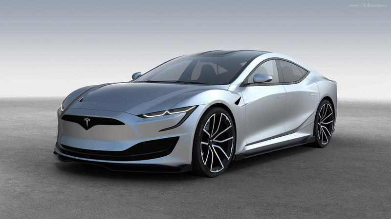 Next-Gen Tesla Model S Rendering has us Hopeful for the Future! - image 790064