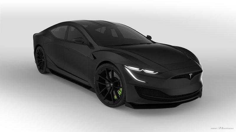 Next-Gen Tesla Model S Rendering has us Hopeful for the Future!
