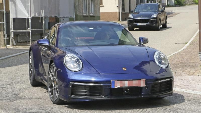 Check Out the New Porsche 911 Before You're Supposed to See It