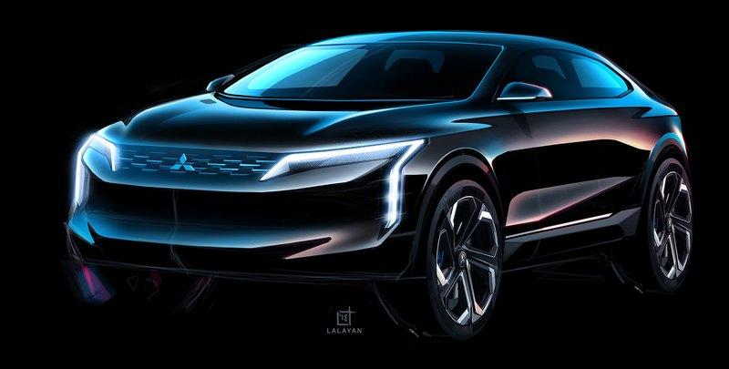 Rendering Shows Off the Rebooted Mitsubishi Lancer as a Rally-Bred Crossover Coupe