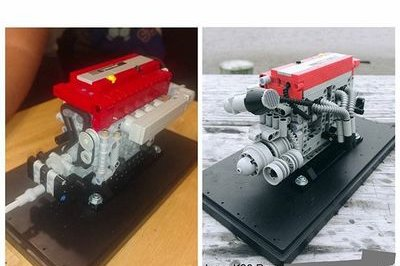 Replica Motorsport Has The Coolest Mini Lego Engines Ever