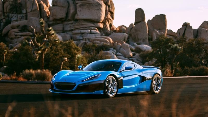 Rimac C Two California Edition Pops the Champagne In Monterey
