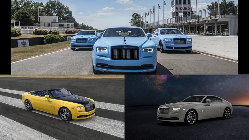 Rolls-Royce is Bringing An Army of Special Edition Models to Monterey Car Week