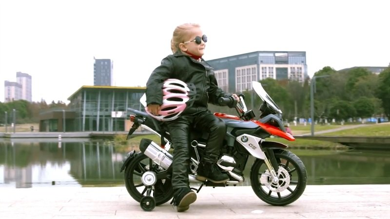 This R 1200 GS will get your kid invested right from the beginning