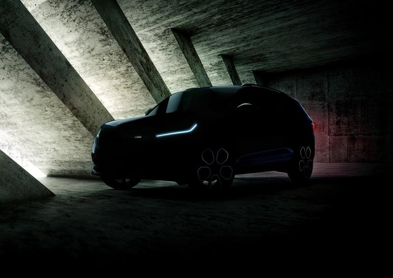 Skoda Teases the Kodiaq vRS; Promises Reveal at Paris Motor Show