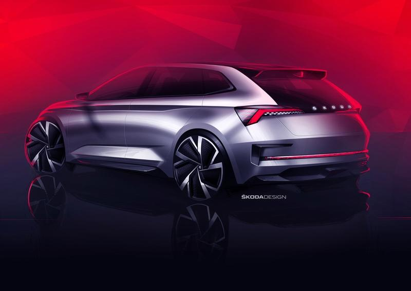 Skoda Teases the RS Vision Concept That Will Debut at the Paris Motor Show