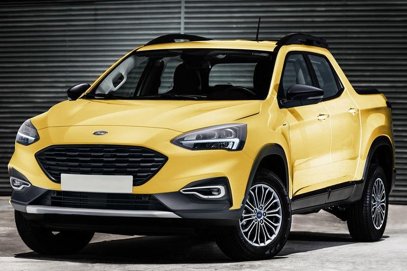 Someone Has Already Rendered the Ford Focus Pickup
