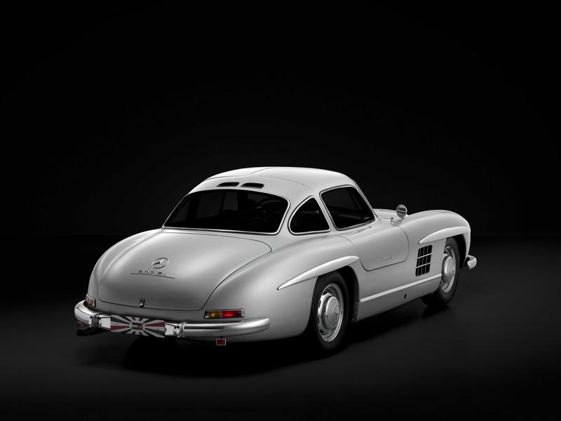 Super Rare 1955 Mercedes-Benz 300SL Gullwing Goes Gone in 60 Seconds - image 791016