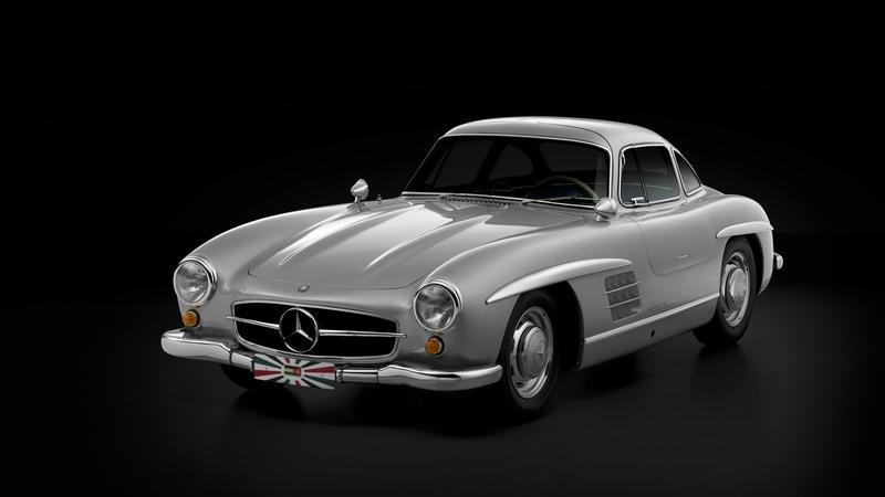 Super Rare 1955 Mercedes-Benz 300SL Gullwing Goes Gone in 60 Seconds